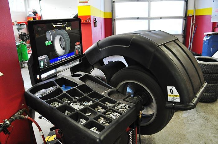 Centriranje pnevmatike v teku, Avtocenter KBM Zagorje