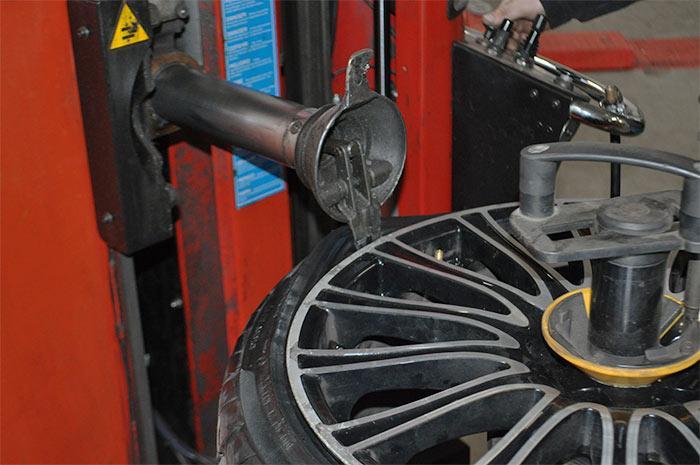 Premontaža pnevmatik
